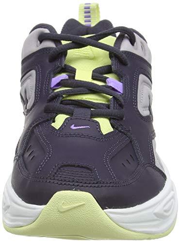 Nike W M2k Tekno, Zapatillas de Gimnasia Mujer, Verde (Gridiron/Gridiron/Atmosphere Grey/Luminous Green/Atomic Violet/Summit White 015), 38 EU