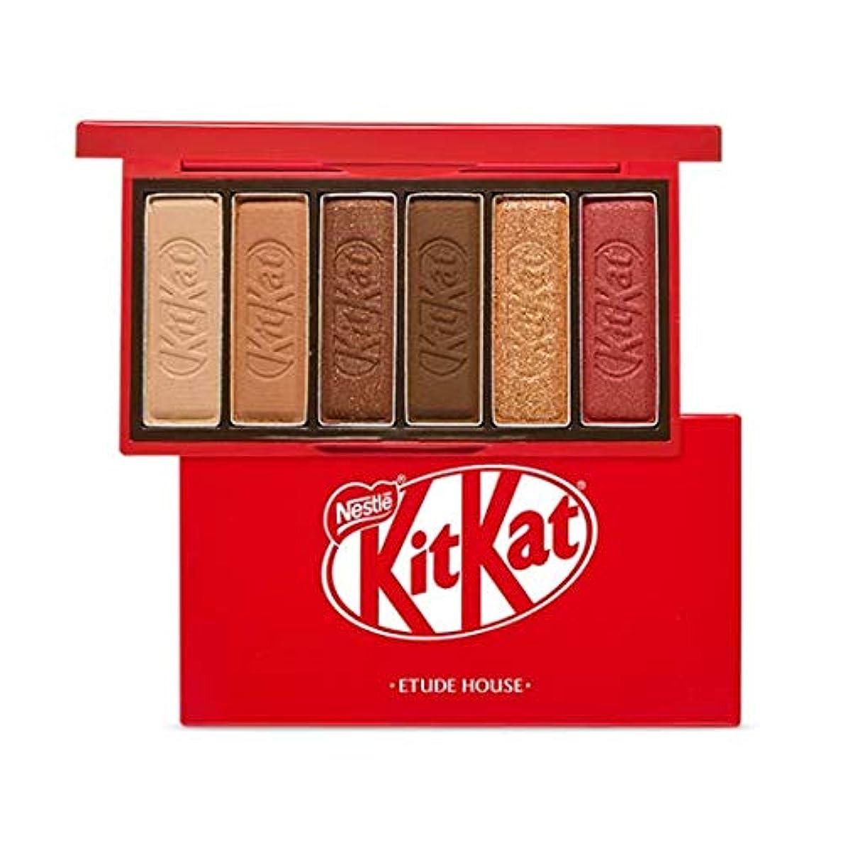 レベル不従順ビルマエチュードハウス キットカット プレイカラー アイズ ミニ 1*6g / ETUDE HOUSE KitKat Play Color Eyes Mini #1 KitKat Original [並行輸入品]