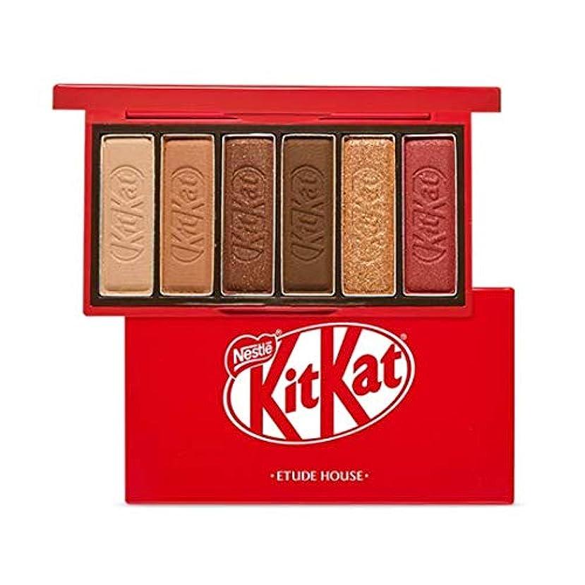 ドル凶暴な活気づけるエチュードハウス キットカット プレイカラー アイズ ミニ 1*6g / ETUDE HOUSE KitKat Play Color Eyes Mini #1 KitKat Original [並行輸入品]