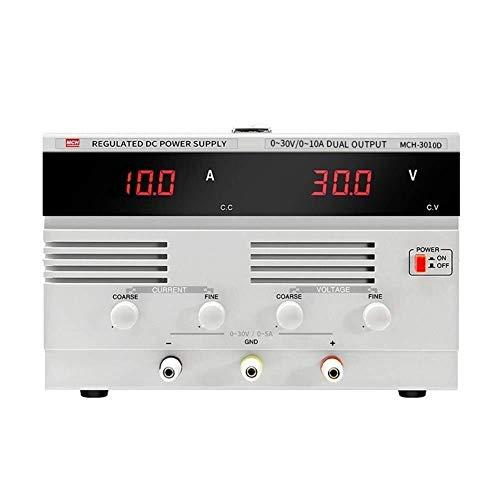 La conmutación variable Alta precisión de CC regulada lineal Fuente de alimentación ajustable 30V 10A envejecimiento Mantenimiento Prueba 3010D Mejoras eléctrico (Tamaño: 220)
