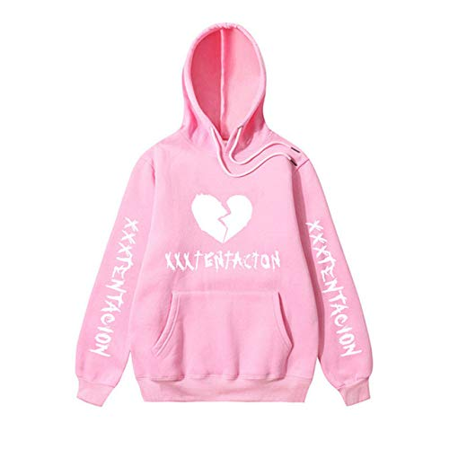 HOSD Revenge Kill Fashion Suprem Hoodie Men/Women Casual Hip Hop Sweatshirt Fleece Pullover Hoody Pink 28 M
