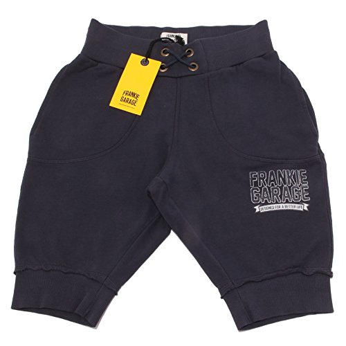 FRANKIE GARAGE 9797P Bermuda Tuta Blu Pantalone Corto Short Men [S]