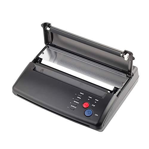 CARESHINE Tattoo Transfer Drucker Maschine Tattoo Kopierer Maschine Thermische Schablone Papierhersteller A5-A4 Schwarz