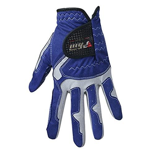 Golfhandske Pack 1 st Mäns Golfhandske Mikrofiber Mjuk Vänster Höger LH RH Hand Anti-Skidding Non Slip Particles Andningsbara Golfhandskar callaway golf män