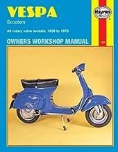 Vespa Scooters Owners Workshop Manual: All rotary valve models 1959 to 1978: No. 126 (Haynes Repair Manuals) by John Haynes (1997-06-29)