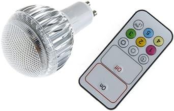 Gecheer Brightness Adjustable LED 9W GU10 Light Bulb