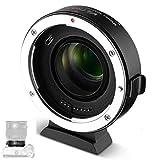 VILTROX EF -EOS M2 - Adaptador de objetivo de enfoque automático (0,71 aumentos, para objetivos Canon EF a EOS EF - M Mount M M2 M5 M6 M50 M100 AF AF