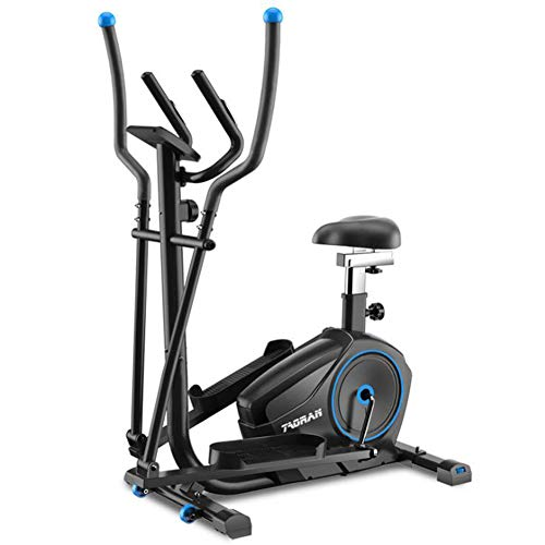 L.HPT Fitness Equipment 2-In1 Elliptical Cross Trainer Exercise Bike-Fitness Cardio...