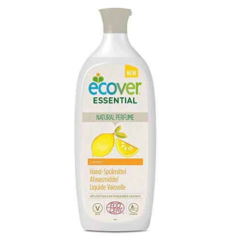 Ecover - Líquido para vajilla con aroma a limón | origen natural ecológico y respetuoso con la piel | Certificado ecológico Ecocert | 500 ml