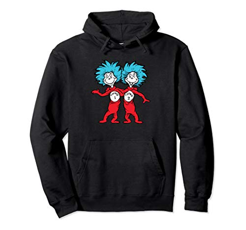 Dr. Seuss Thing 1 Thing 2 Buddies Pullover Hoodie
