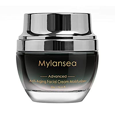 Mylansea UPGRADED Super Hydrating Face Cream Collagen, Anti Aging Facial Moisturizer with Hyaluronic Acid 50g by Mylansea