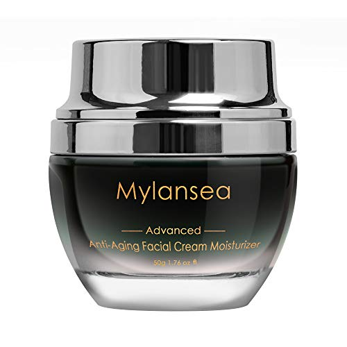 Mylansea UPGRADED Super Hydrating Face Cream Collagen, Anti Aging Facial...