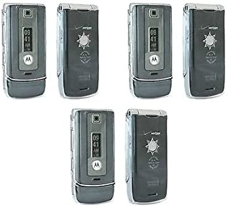 3 Crystal Clear Motorola W385 Snap Hard Cover case skin smart phone Cell plastic