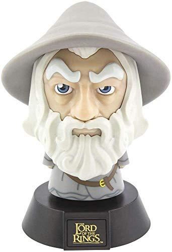 Herr der Ringe - Lampe - Gandalf der Graue - 3D Deko Nachtlicht - Geschenkbox