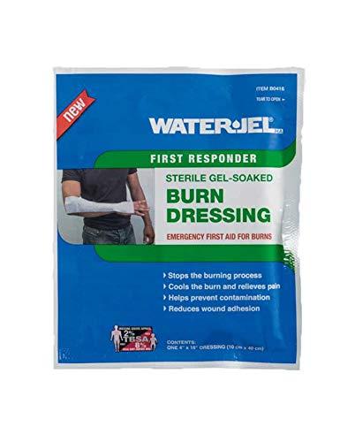 Water-Jel HA Kompresse bei Verbrennungen, steril, 10 x 40 cm