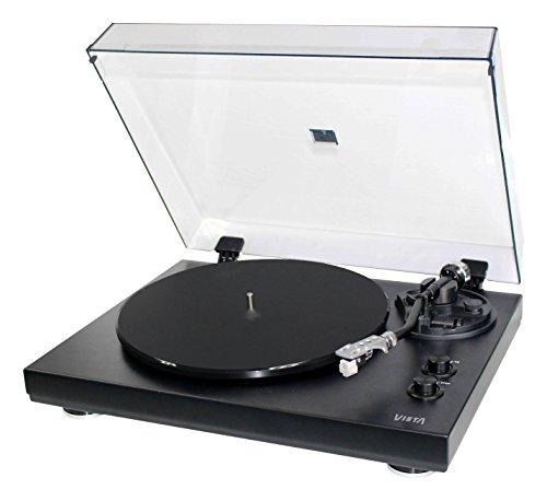 Vieta VH-TT600BK - Giradiscos Hi-Fi, Color Negro