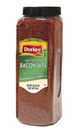 Durkee Imitation Bacon Bits, 16-Ounce Packages (Pack of 3)