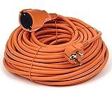 Cable alargador Profesional (20 m, protección IP44, 16 A, 250 V)