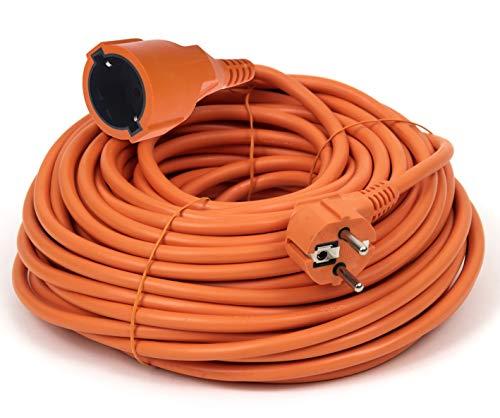 Rallonge électrique Schuko Câble d'extension Professionnel IP44 16 A 250 V Longueur 20 m