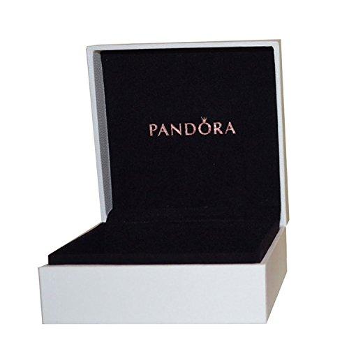 PANDORA - Caja Mediana (7x7x4) para Anillos, Pendientes, Colgantes y Charms