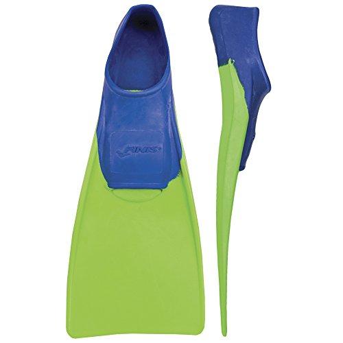 FINIS Kinder Floating 8-11 Inch Swim Fin, Blue/Lime Green, 26-29