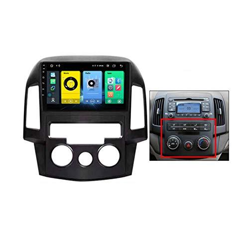 TypeBuilt Android Car Stereo Radio De Coche 9 Pulgadas Unidad Principal Reproductor Multimedia Receptor De Video Carplay para Hyundai-h I30 2006-2011 Autoradio Mit Navi,B,C150