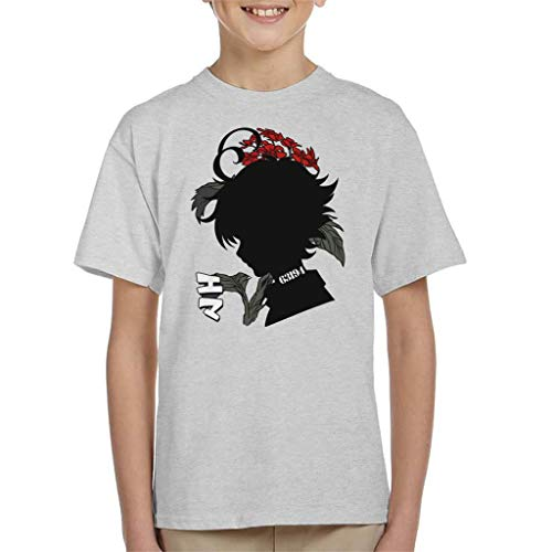 Cloud City 7 Emma 63194 Silhouette The Promised Neverland Kid's T-Shirt