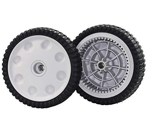 Antanker Front Drive Wheels Replaces MTD 734-04018C,734-04018B, 734-04018A for Troy Bilt/Cub Cadet Mower Set of 2