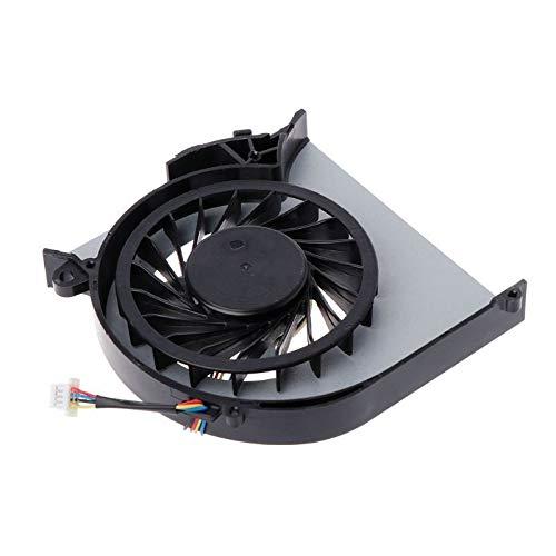 XUNLAN Durable Ventilador de refrigeración refrigerador portátil HP Pavilion DV6 ffor DV6-7000 DV7-7000 DV6T-7000 682061-001 682179-001 Nave de la Gota Wearable