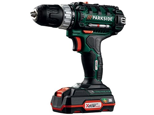 Parkside Cordless Drill 20v Lithium-ion Battery Screwdriver PABS 20-Li C3