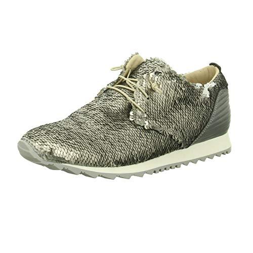 Donna Carolina Damen Sneaker 33763062 grau 300470