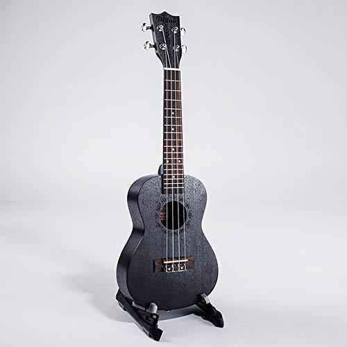 Ukulele Concerto/ukulele Soprano, 23 Pollici Hawaii Professionale Ukulele, Per Professionale E Principianti,nero