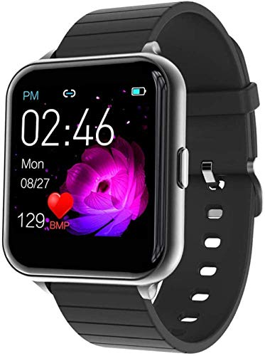 Smartwatch Fitness Watch Watch Full Touch Screen Fitness Watch IP68 Waterproof Fitness Tracker Sports Watch with Pedometer Heart Rate Monitors Stopwatch for iOS Android Mobile Phone