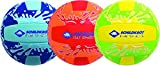 Schildkröt Fun Sports 970276 Ballon Mixte Enfant, Bleu/Rouge/Vert Jaune, Taille 21 cm