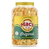 Mac's Original Fried Pork Skins 11oz Barrel ( 2 PACK )