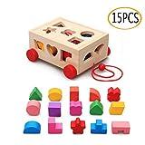 【Materiali di alta qualità】: i giocattoli con scatola per inserti sono realizzati in legno naturale di alta qualità e sono privi di BPA. La superficie è ben lucidata, i bordi sono lisci e il materiale è stabile, garantendo la sicurezza dei giocattoli...