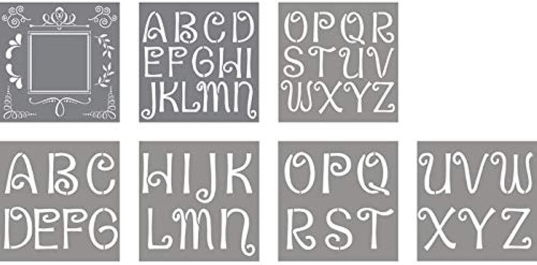 CREATIV DISCOUNT® NEU Schablone BuchstabenDesigns B07JPG98S4   Neuer Neuer Neuer Stil  92c0aa