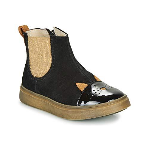 CATIMINI CLARISSE Enkellaarzen/Low boots meisjes Zwart/Goud Laarzen