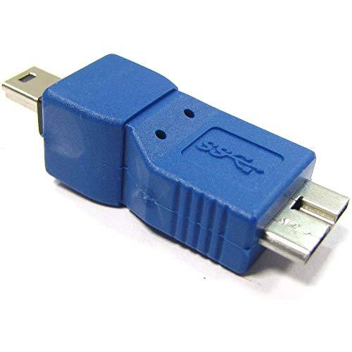 BeMatik - Adaptador USB 3.0 a USB 2.0 (MicroUSB B Macho a...