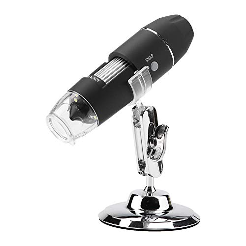 USB Digital Mikroskop, Elektronisches Hand Mikroskop Mikroskop Kamera HD 1600X-Vergrößerungs Endoskop