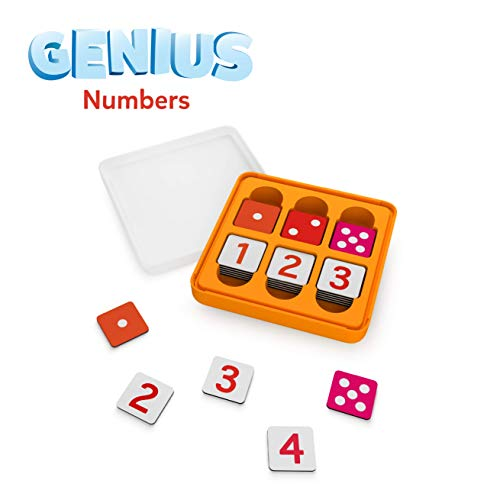 Osmo - Genius Numbers Game - Ages 6-10 - Math Equations & Confidence - For iPad or Fire Tablet (Osmo Base Required)