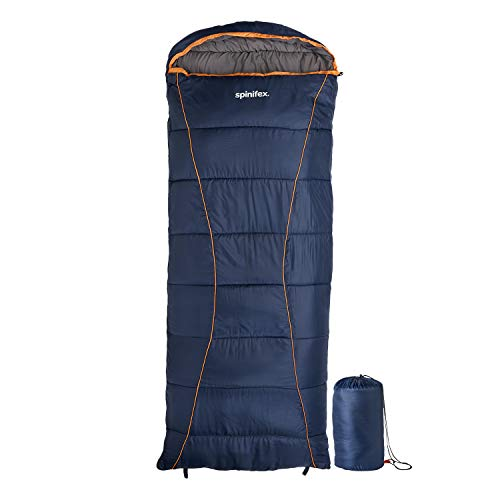 Camping Sleeping Bags for Adults and Kids - Cold Weather Sleeping Bag Uses Advanced Hollow Fiber Fill to Keep You Comfortable