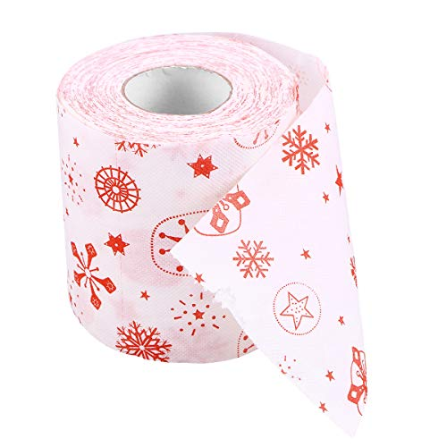 VOSAREA - Papel higiénico de papel de regalo para mesa, sala de estar, baño