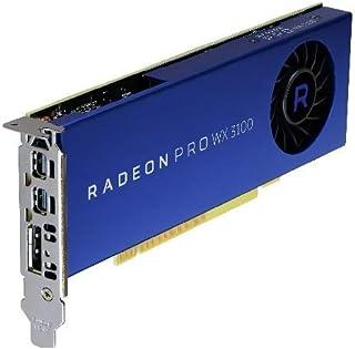 DELL 490-BDZS - Tarjeta gráfica (Radeon Pro WX 3100, 4 GB, GDDR5, 128 bit, PCI Express 3.0, 1 Ventilador(es))