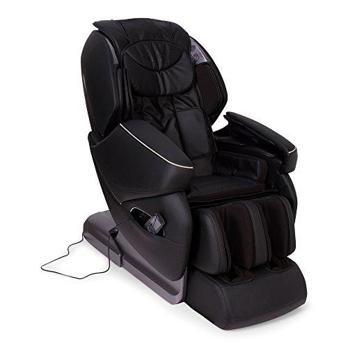 NIRVANA® 3D Massagesessel Schwarz (Modell 2020) – Shiatsu Relaxsessel mit 9 Massagefunktionen – Schwerelosigkeit, Wandfrei, Magnettherapie, Ionen - 2 JAHRE Garantie GLOBAL RELAX®