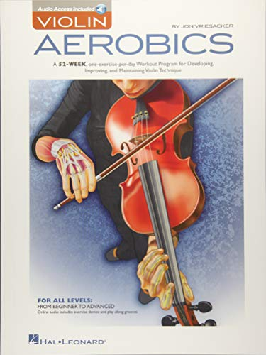 Compare Textbook Prices for Violin Aerobics Pap/Dwn Edition ISBN 0884088988517 by Vriesacker, Jon