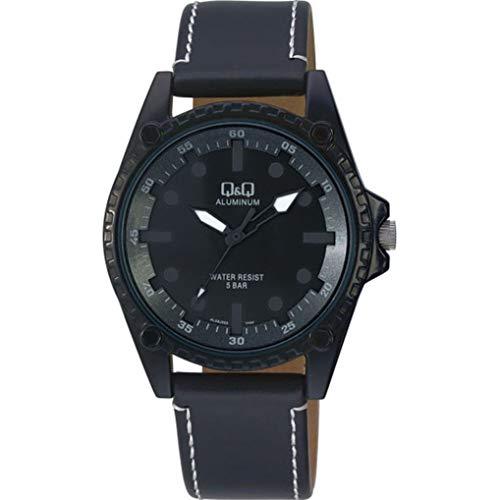 Q&Q AL08J562Y - Reloj analógico de cuarzo japonés para hombre
