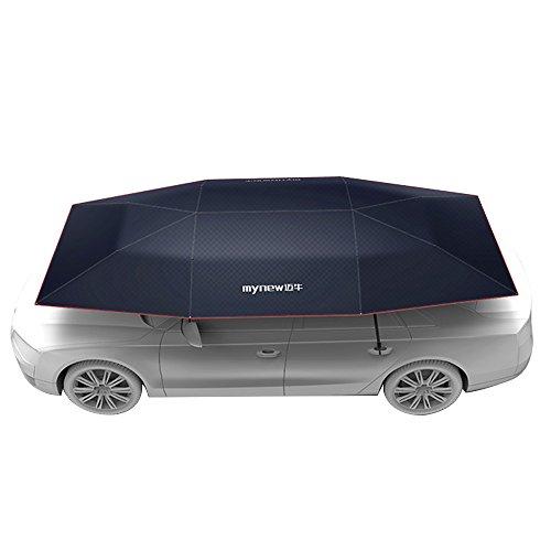 Vogvigo Semi-automatic mobile canopy umbrella sun umbrella garments awning car cover B