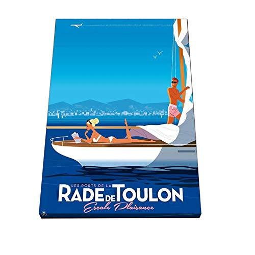 Moder Mr Z Toulon affiche mur Art toile peinture photo affiche et impression galerie salon décor à la maison impression sur toile-50x70 cm sans cadre