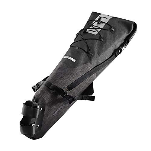 WENYOG Bolsa Sillin Bici Resistente al Agua for Bicicleta Saddle Bag reflexiva de Gran Capacidad de Cola Trasera Plegable Bolsa de Ciclo MTB del Tronco Pannier Mochila 2 (Color : Style 2, Size : XL)